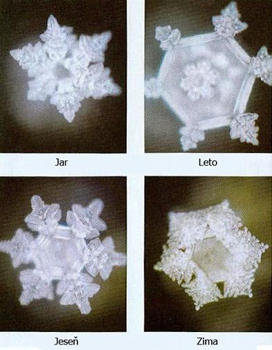 Takto sa menili zmrznuté kryštály vody pri počúvaní Vivaldiho Štyroch ročnýchobdobí