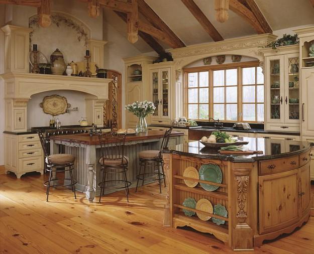 Ako si zariadi kuchy u b vanie ivotn t l hobby for Old english kitchen designs
